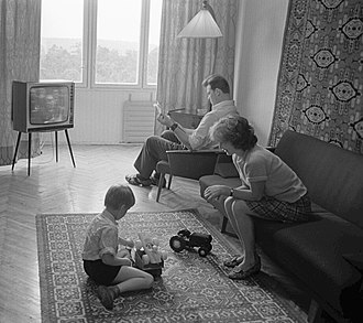 Soviet working class - An average Soviet working-class family; this family lived in Kiev