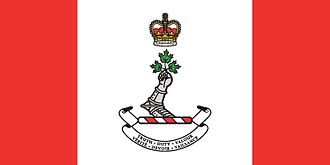 Canadian Defence Academy - Flag of the Royal Military College of Canada.