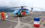 ROCAF S-70C 7006 with Mascot Display at Hualien AFB Apron 20160813.jpg