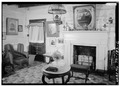 ROOM IN LOG PORTION, AT END WALL - Davies Manor, 9336 Davies Plantation Road, Memphis, Shelby County, TN HABS TENN,79-MEMPH.V,1-6.tif