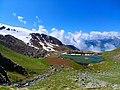 ROURE SELLERIES - Lago (Laus) della Muta (o Motta - Moutta) 2270 m. Rifugio Selleries Roure Chisone Foto Edoardo Tanotti.jpg