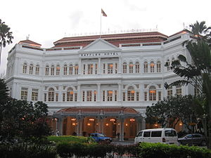 Swan and Maclaren - One of Swan and Maclaren's most prominent projects was the Raffles Hotel, now a national monument.