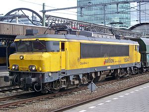 Railion-Baureihe 1604 in Utrecht CS