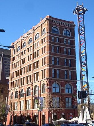 Marcus Clark & Co. - Image: Railway Square Marcus Clark and Tower