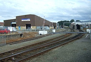 Inverness TMD - Inverness Rail Depot