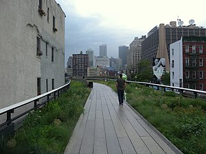 High Line - The center section, opened June 2011