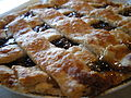 Raisin pie with lattice crust.JPG
