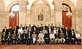 Ram Nath Kovind with the Directors of Indian Institutes of Technology (IITs), Indian Institute of Science Bangalore (IISC-B) and Indian Institutes of Science Education and Research (IISERs), at Rashtrapati Bhavan.jpg