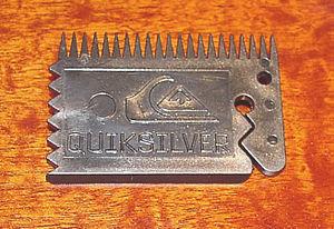 Wax comb - Image: Randy carrasco qs wax comb