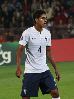 Raphaël Varane - Varane with France in 2014