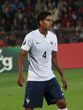 Raphaël Varane - Varane playing for France in 2014