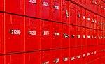 Red postal boxes, Christchurch, New Zealand 03.jpg
