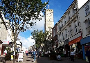Fore Street, Redruth town centre