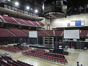 Reed Arena - Reed Arena's Interior, 2016