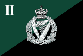 Royal Irish Regiment (1992) Infantry regiment of the British Army