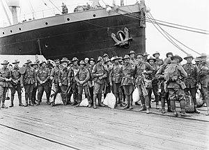 5th Machine Gun Battalion (Australia) - Reinforcements for the 14th Machine Gun Company, December 1916