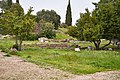 Remains of the Temple of Apollo Patroos in the Ancient Agora of Athens on March 23, 2021.jpg