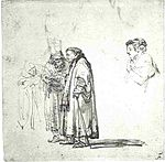 Rembrandt Two Men in Discussion, a Third Listening to Them.jpg