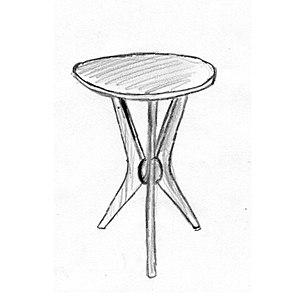 René-Jean Caillette - Image: René Jean Caillette meubles 1950d guéridon