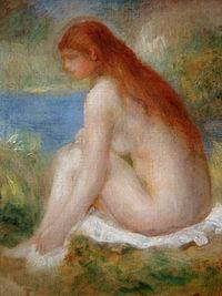 Mujer Desnuda Sentada Wikipedia La Enciclopedia Libre