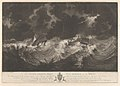 Representation of the distressed situation of his Majesty's Ships Hector and Bristol when dismasted in the Great Hurricane, Oct 6th 1780 - the Hector's Guns were thrown overboard to prevent the ship foundering RMG PY0731.jpg