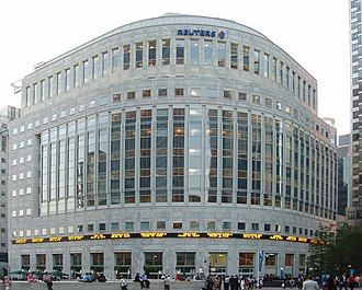 Thomson Reuters - Thomson Reuters Building in Canary Wharf, London Borough of Tower Hamlets