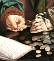 Reymerswaele Two tax collectors (detail) 04.jpg