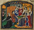 Rivers & Caxton Presenting book to Edward IV.JPG
