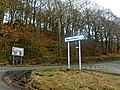 Road junction near Almondbury, Huddersfield - geograph.org.uk - 1172333.jpg