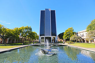 California Institute of Technology - The Millikan Library, the tallest building on campus