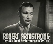 Robert Armstrong (actor) Armstrong resembled King Kong