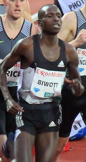 Robert Biwott - Image: Robert Biwott 2016