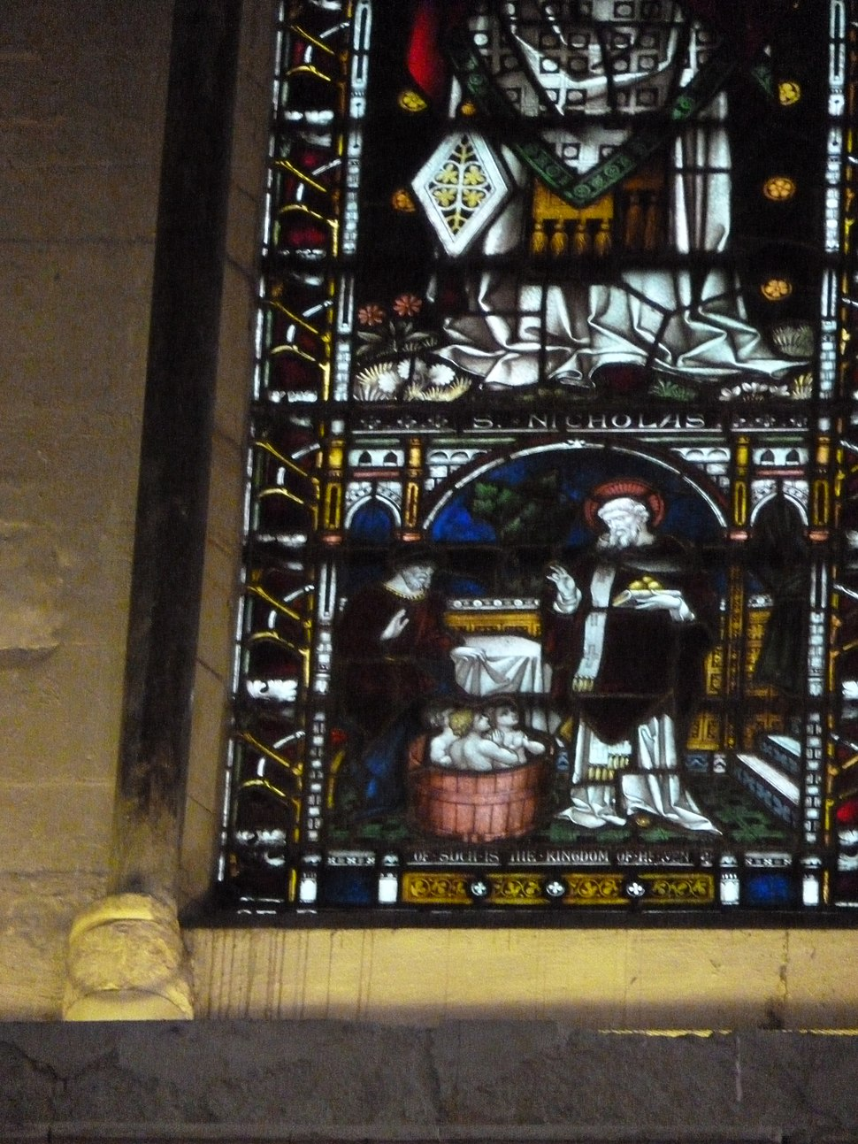 Rochester Cathedral - St Nicholas window.jpg
