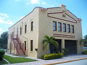 Rockledge, Florida - City of Rockledge's First City Hall; now used for community events