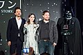 Rogue One- A Star Wars Story Japan Premiere Red Carpet- Diego Luna, Felicity Jones & Gareth Edwards (35410503460).jpg