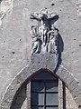 Roman Catholic Chapel, crucifix relief, 2017 Városmajor.jpg