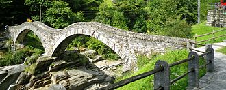 Stress (mechanics) - Roman-era bridge in Switzerland
