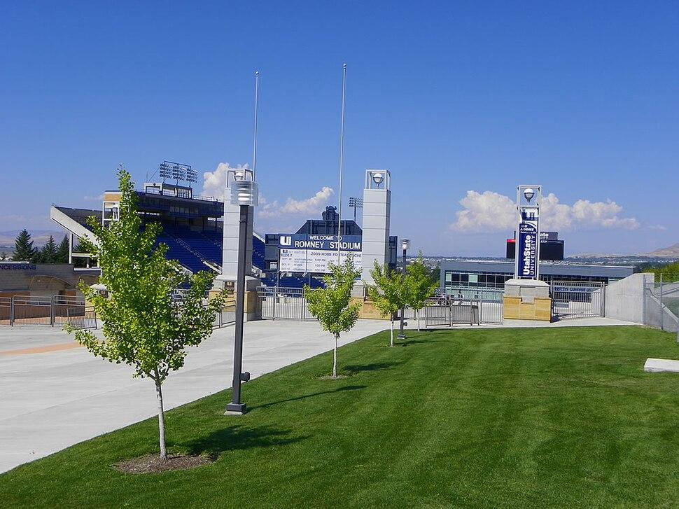 Romney stadium usu football