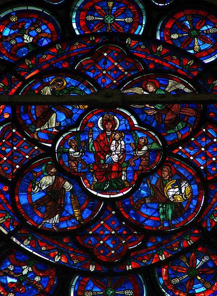 Vitrail et autres vitraux. 439px-Rose_Choeur_Cath%C3%A9drale_de_Laon_150808_1