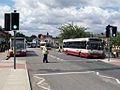 Rossendale Transport buses 54 (YJ05 JWC), 171 (HV52 WSO) & 121 (S121 KRN), 14 June 2008.jpg