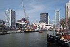 Rotterdam, de Bierhaven-de Leuvehaven vanaf de Jufferkade IMG 1830 2018-03-18 12.07.jpg