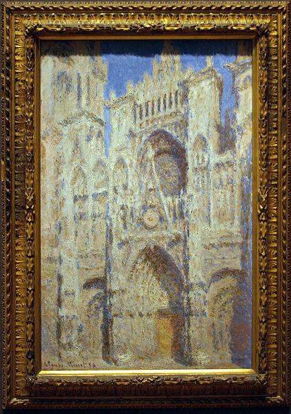 Fájl:Rouen Cathedral - The Portal (Sunlight).JPG