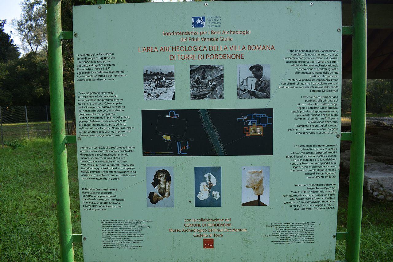 Come Riscaldare Ambienti Grandi file:rovine villa romana di torre 02 - wikimedia commons