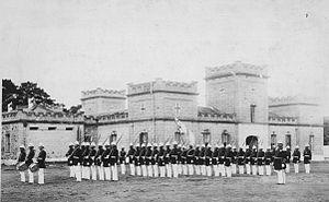 ʻIolani Barracks - Image: Royal Guards of Hawaii (PP 54 1 005)