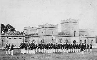 ʻIolani Barracks - Image: Royal Guards of Hawaii (PP 54 1 005)