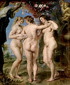 Por Peter Paul Rubens, Museu do Prado (1636-1639).