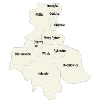 Ruda Śląska - Image: Ruda Śląska administracja