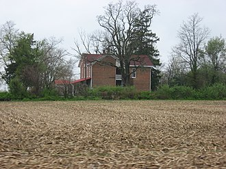 National Register of Historic Places listings in Hancock County, Indiana - Image: Rufus and Amanda Black House