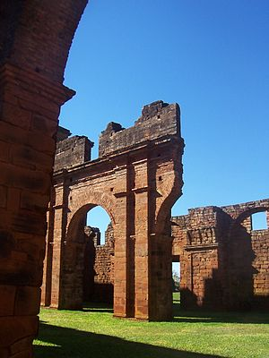 São Miguel das Missões - Image: Ruinas saomiguel 5