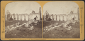Ruins at Fort Ticonderoga, N.Y., Officers' Quarters (exterior), from Robert N. Dennis collection of stereoscopic views.png